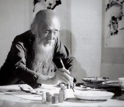 黄稷堂写意花鸟画,寥寥几笔好传神