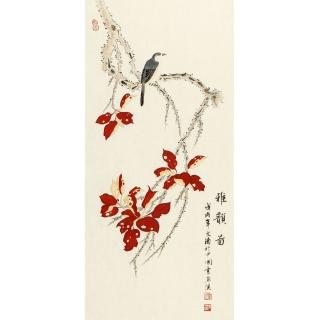 湖北美协 徐文涛新品国画花鸟画《雅韵图》