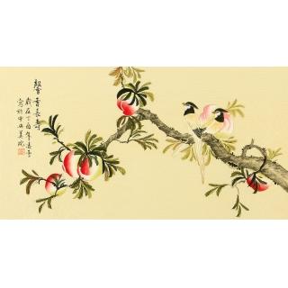 家居装饰画 凌雪新品果蔬图《馨香长寿》
