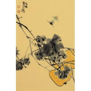 【已售】收藏必升值 王子儒老师新品写意葫芦图《福禄》