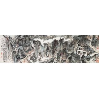 名画欣赏:陆俨少《雁荡山图》