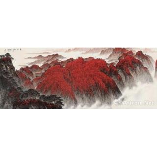 新金陵画派代表画家魏紫熙《黄洋界》