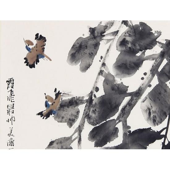 【询价】高风新品花鸟画作品《花鸟》