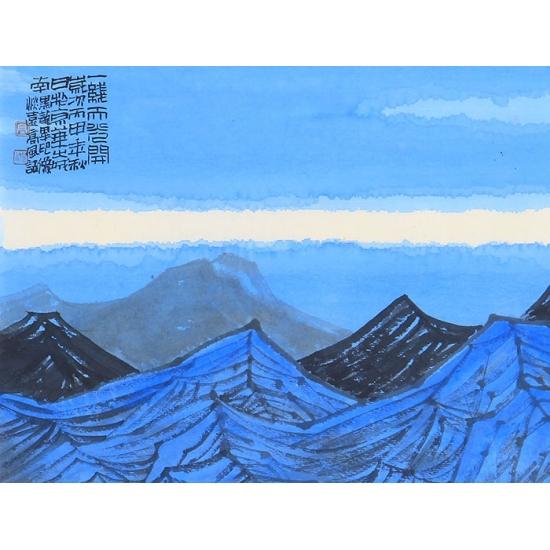 【询价】高风小品山水画作品《山水画》