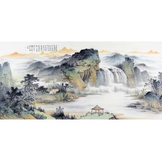 收藏必升值 余静新品创作国画作品《朱华始沈泉》