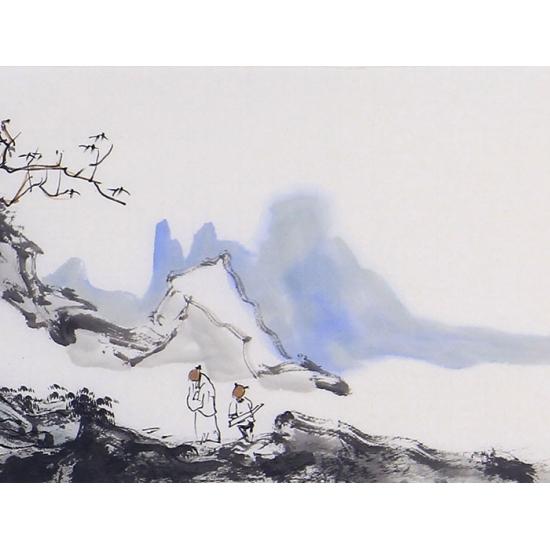 写意装饰画 王辉新品力作山水画《烟江叠嶂》